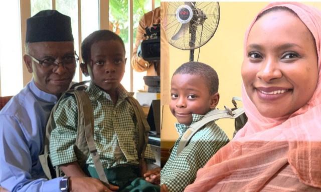 Nasir El-Rufai enrolls his 6-year old son into public primary school in Kaduna