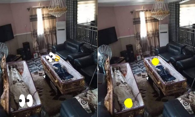 Imo land dispute continues as youth drop corpses in the parlor of the man that exhumed them