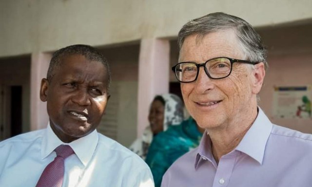 My wife and I are lucky to have Aliko Dangote as partner and friend – Bill Gates