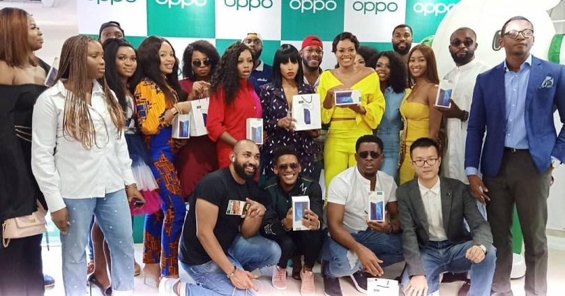 All 26 housemates of BBNaija season 4 receive OPPO F11 Pro smartphone worth over N150k