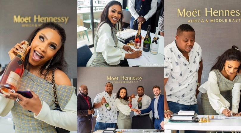 BBNaija 2019 winner Mercy signs new endorsement with MoëtChandon