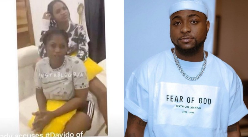 Davido finally found two ladies he mounted N1m hunt on, vows to send them to jail