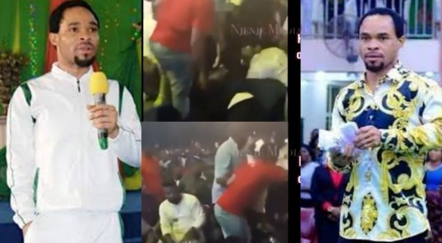 Indonesian immigration deporting Nigerians for spraying money during Pastor Odumeje's crusade