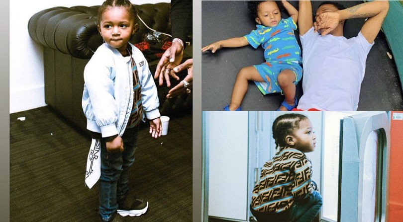Wizkid's third son Zion turns 2; See sweet messages from fans