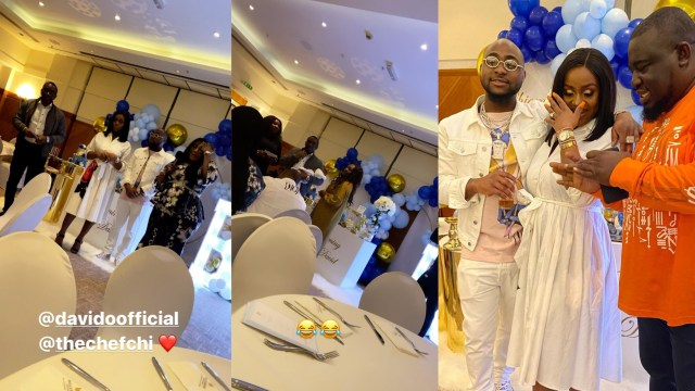 Davido's son David Ifeanyi Jnr has been officially christened