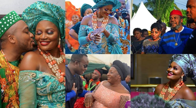 Actress Chizzy Alichi shares photos of her traditional marriage