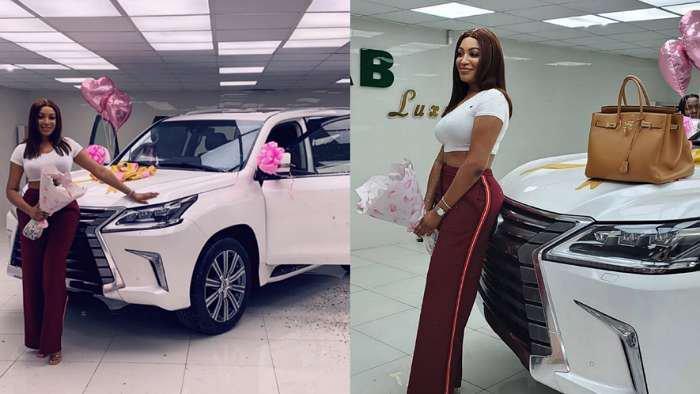 Ex-Beauty queen, Dabota Lawson acquires a new Lexus LX 570 car