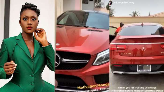 Actress, Linda Osifo buys herself a brand new Benz GLE Coupe