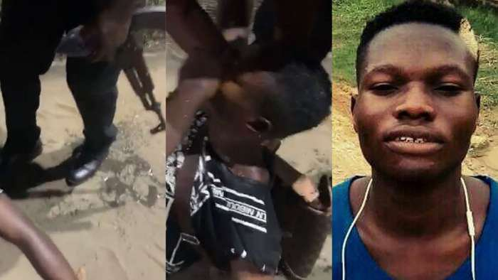 Man nearly dropped dead after police hit him a gun while labelling him a yahoo boy in Lagos