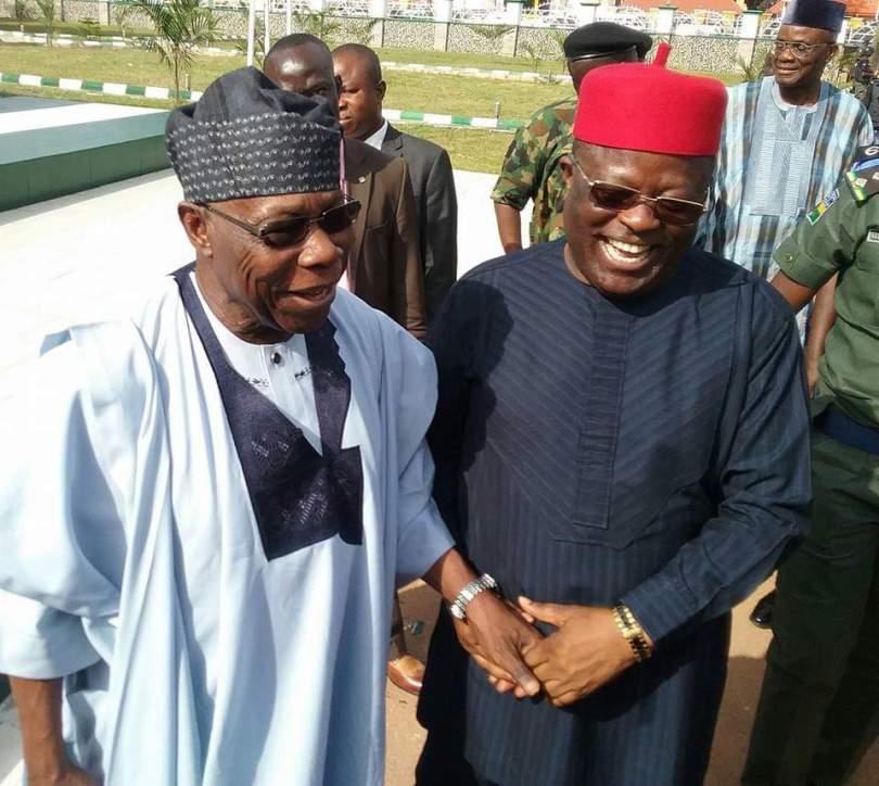 Gov. Umahi Sends Message To Ex-President, Obasanjo On His Birthday