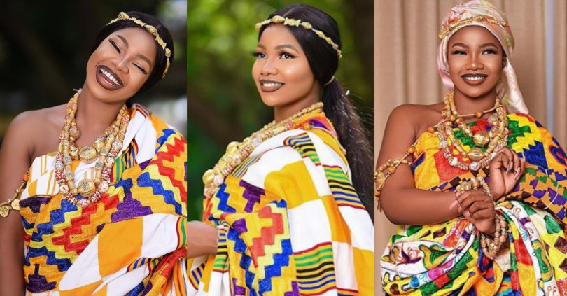 Tacha Celebrates Ghana's Independence Day In Astonishing Pictures, Says Ghana Is Her Motherland