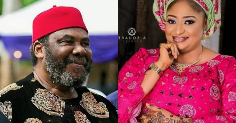"""He is an old man, what do you expect?"" – Ronke Oshodi replies Pete Edochie on method of marriage proposal"