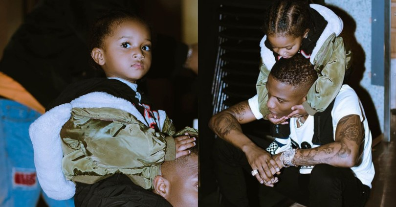 Wizkid Enjoys Father And Son Moments With His Son Zion, Shares Adorable Photos