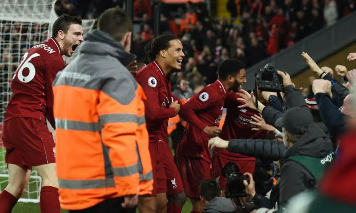 EPL suspension means Liverpool can win title in next match