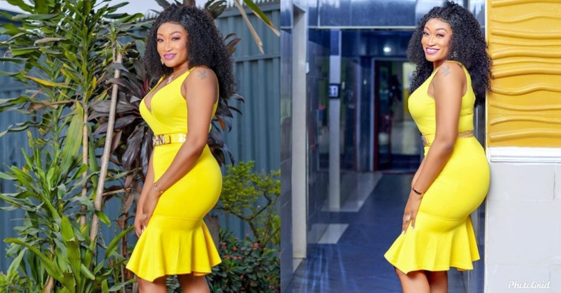 Nollywood Actress, Oge Okoye, serves her fans with some hot adorable Easter photos
