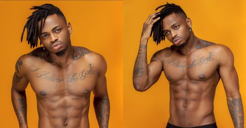 Singer, Diamond Platnumz sets internet on fire with hot 'isolation photos'