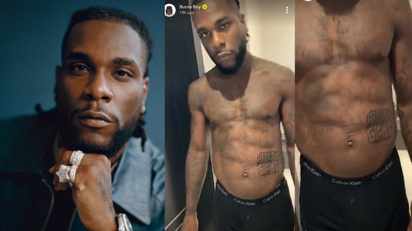 'If not music, Burna Boy would have been a bricklayer, his body looks too strong' – Nigerian man says
