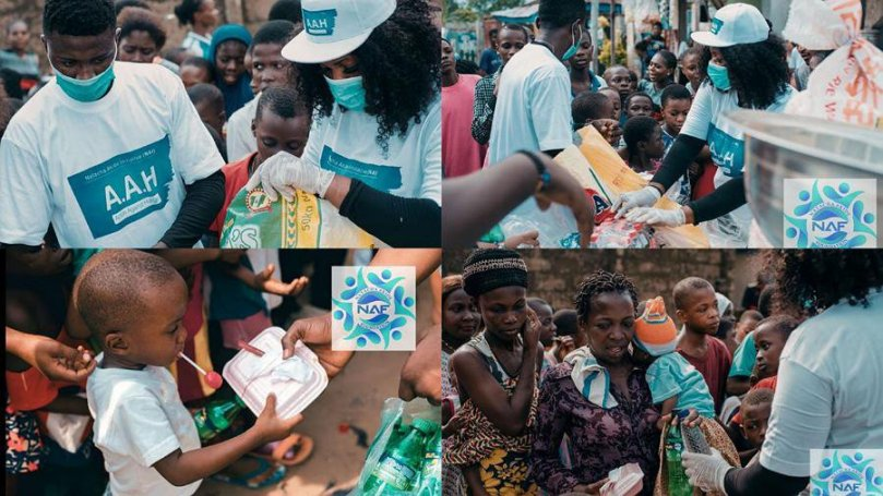 BBNaija Tacha extends her charitable works to Port Harcourt, feeds over 500 people