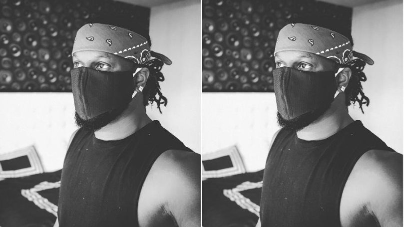 """Singer, Paul Okoye questions use of mask, says """"soon we no go know who be thief"""""""