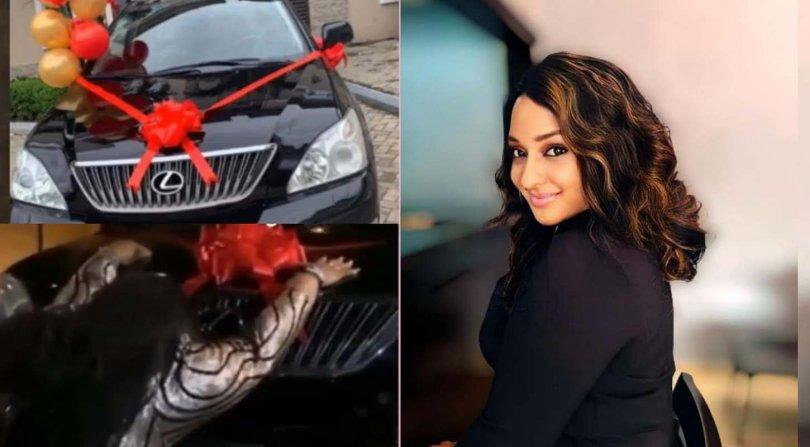 Fans gift Ultimate Love co-winner, Rosie car on her birthday