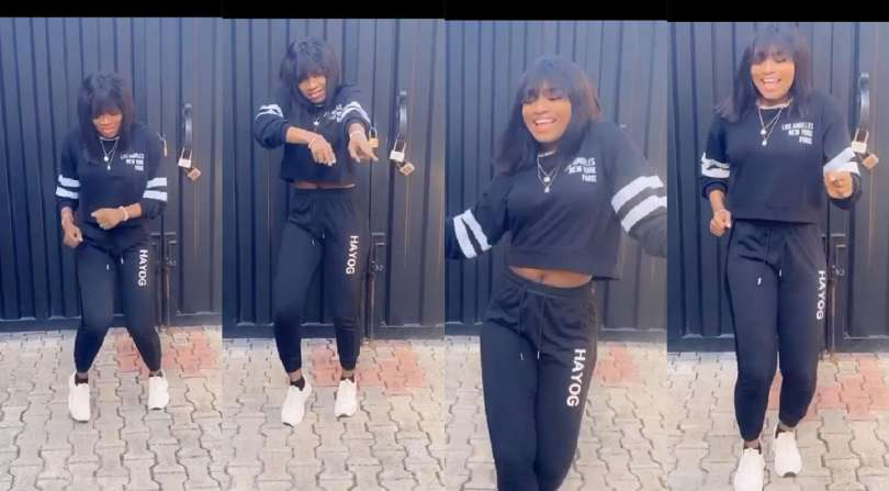 BBNaija's Thelma returns with electrifying steps in 'Okoto Dance' (video)