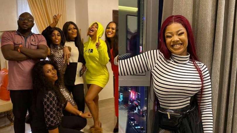 BBNaija's Tacha shades Mercy and her fans, calls them 'Titans wanabe'