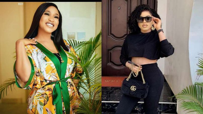 'Tonto Dikeh lavished me in Abuja' – Bobrisky says