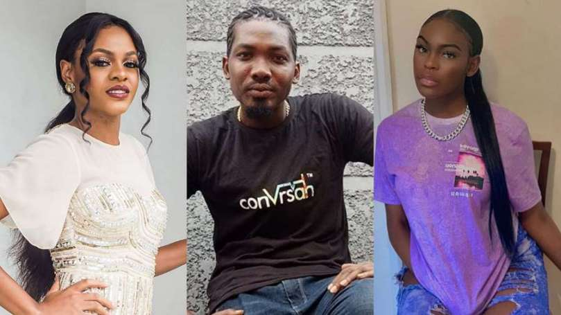 BBNaija Jackye's ex-boyfriend, Kosemani shades her, says his little sister is finer than her