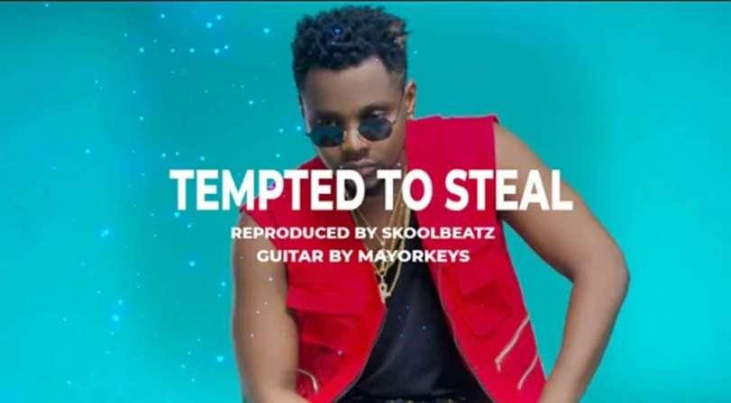 Download Instrumental Kizz Daniel – Tempted To Steal (Reprod. By Skoolbeatz)