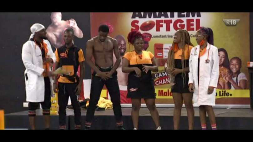 BBNaija: Team 1, Team 2 receive N700k and N300k respectively in Amatem Soft Gel Task