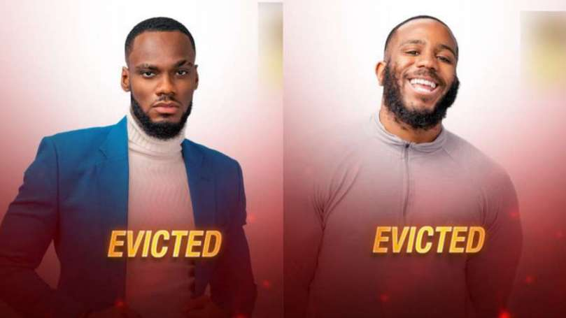 BBNaija: Prince, Kiddwaya evicted from the show, speak with Ebuka on live stage