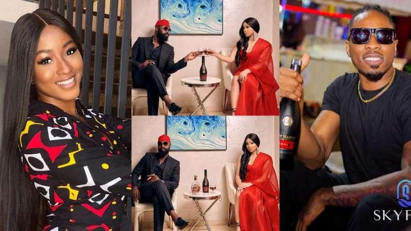 BBNaija stars Ike and Kim Oprah welcome Nengi to Remy Martin NG family