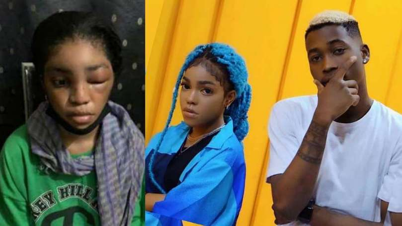 Lil Frosh publicly denies beating his girlfriend, shares his side of story (video)