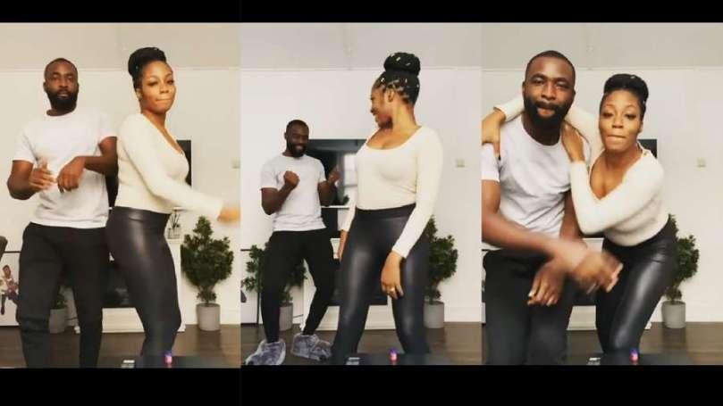 With tireless efforts, BBNaija lovebirds Gedoni and Khafi show off new dance skill (video)