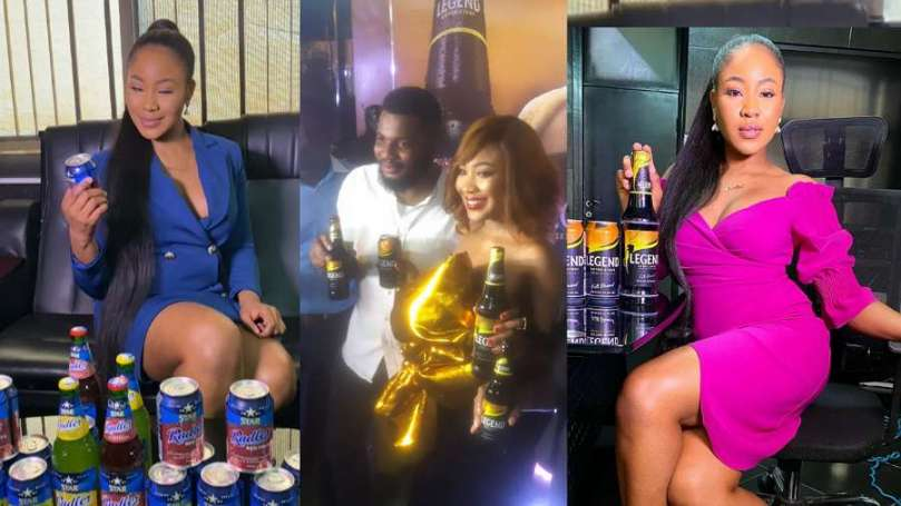 Star Radler, Legend Extra Stout officially unveil BBNaija star, Erica as brand ambassador