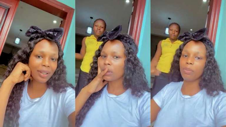 Fans slam BBNaija's Kaisha for making video of herself ordering her maid to make food