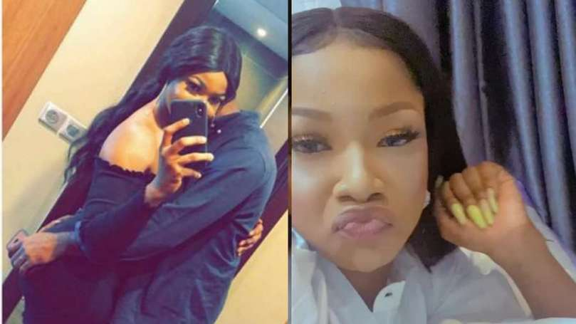 BBNaija's Tacha finally reconciles with her boyfriend, Ladi