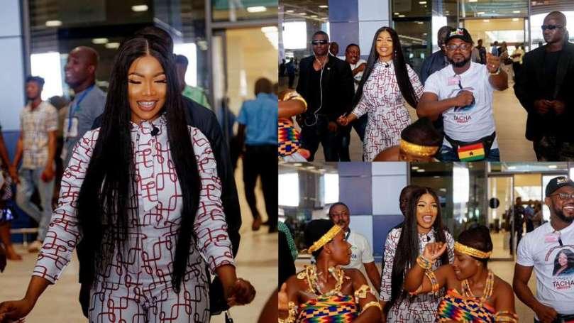 BBNaija star Tacha marks her one-year historic visit to Ghana