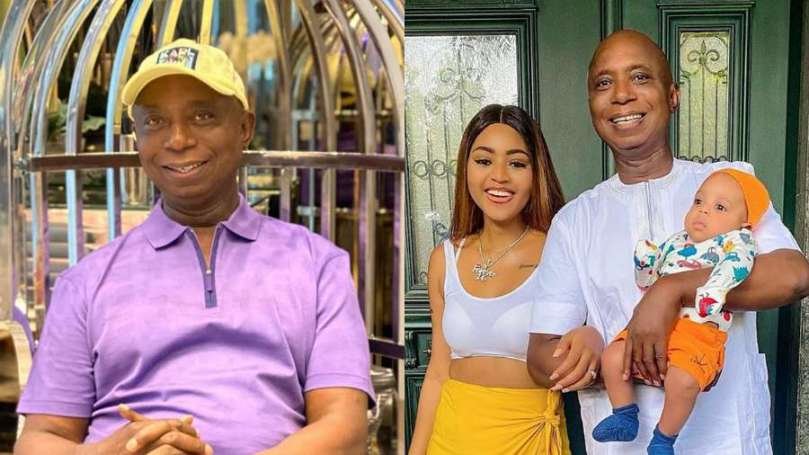 Actress Regina Daniels' husband, Ned Nwoko confirms he will marry a 7th wife (video)