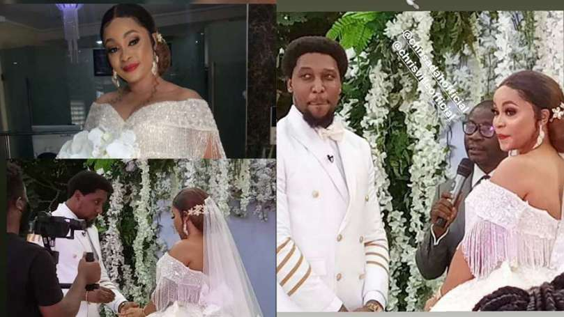 Ultimate Love stars Chris Ville and Chris Adah finally wed