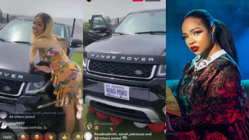 Invisible fans gift BBNaija's Nengi brand new Range Rover SUV as birthday  gift (video) | Valid Updates