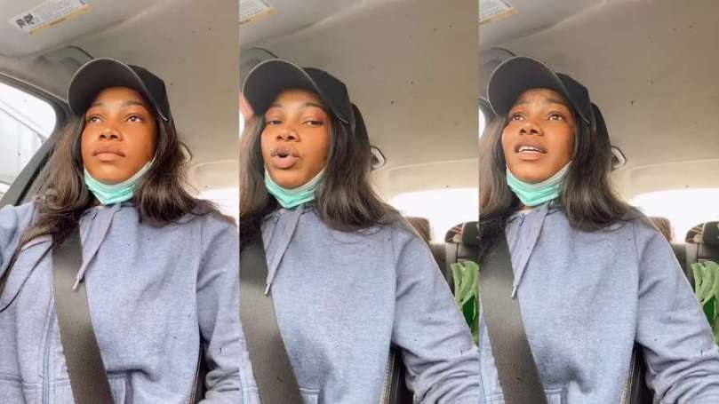BBNaija's Tacha is tired of driving in Lagos, here's why (video)