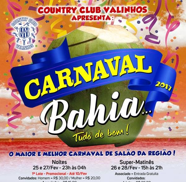country clube carnaval
