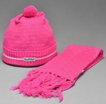 Kit touca e cachecol infantil Bonetti Baby – Cód. 5035 – R$30,90