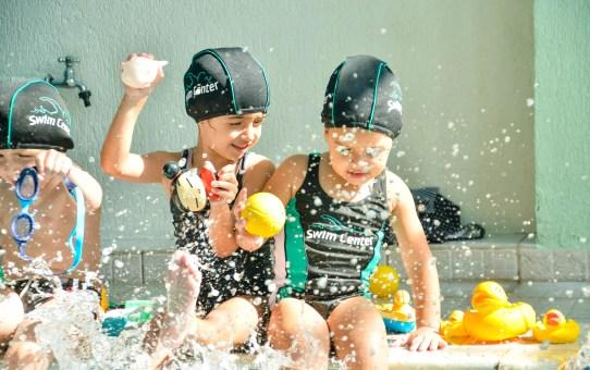 Swim Center, natação para bebês e crianças em piscina semiolímpica