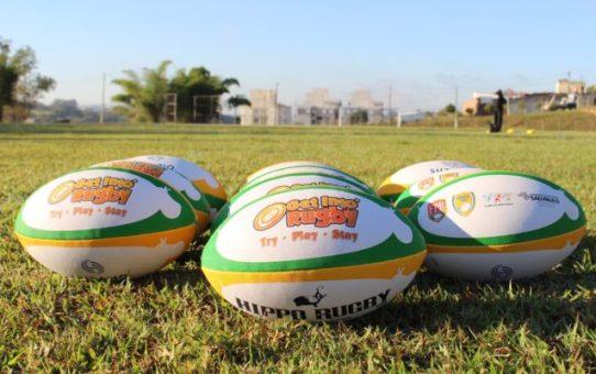 Projeto ensina Rugby gratuitamente para crianças em Valinhos