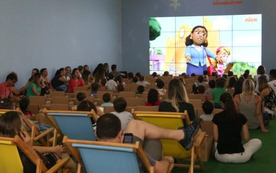 Drive-In Kids cineminha gratuito no Galleria Shopping