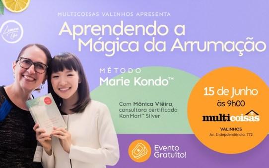 Aprenda A mágica da arrumação com Mônica Viêira- Grátis