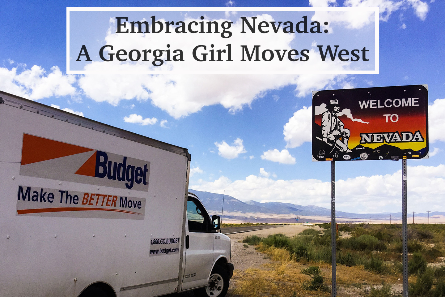 Embracing Nevada: A Georgia Girl Moves West