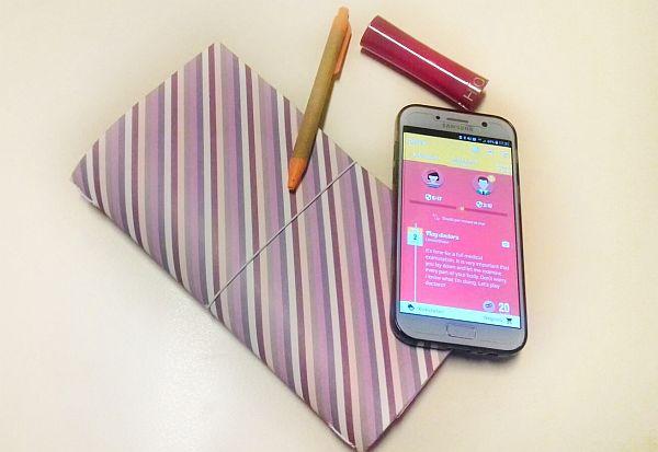 L'app Desire sul telefono